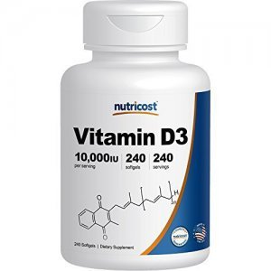 Vitamina D3 10.000 Ui Nutricost 240 Softgels