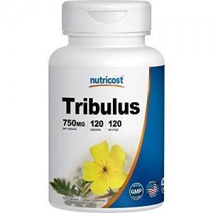 Tribulus Terrestris Nutricost 750Mg, 40% Saponinas - 120 Cápsulas