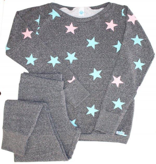 Pijama Feminino Fleece Chumbo