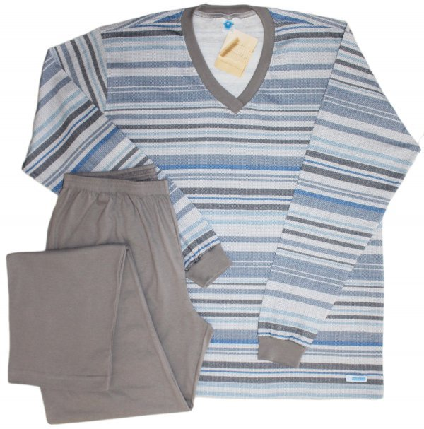 Pijama Masculino Tonal