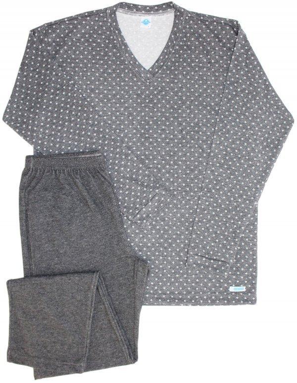 Pijama Masculino Losango Black