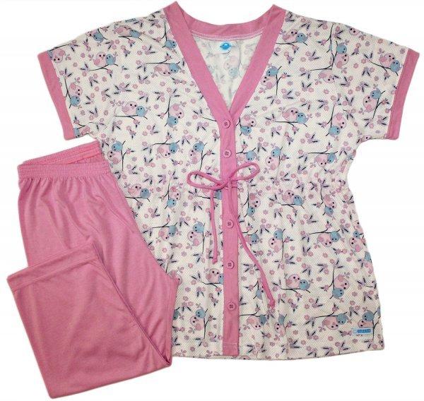 Pijama Feminino Gestante Bird