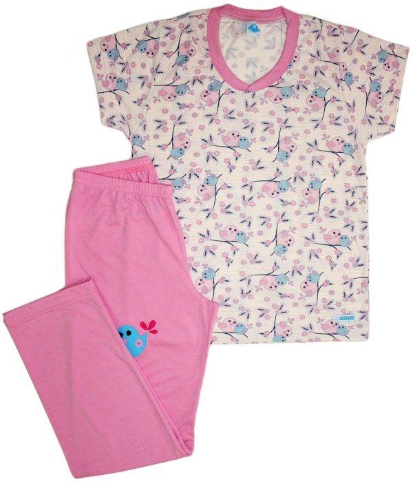 Pijama Feminino Bird