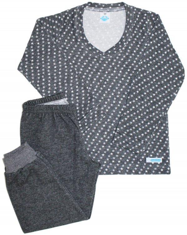 Pijama Feminino Estrelinha Black - Infantil