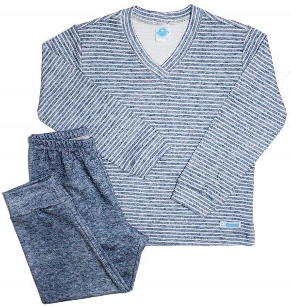 Pijama Listras Suedine