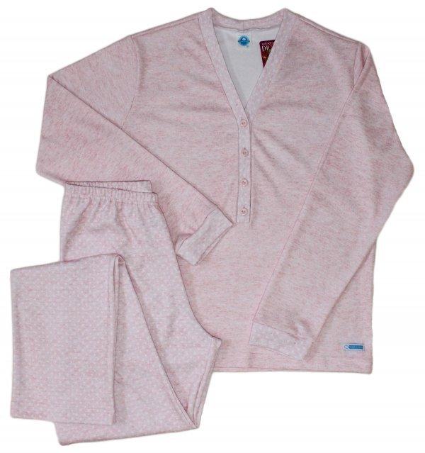 Pijama Estrela Suedine com Abertura