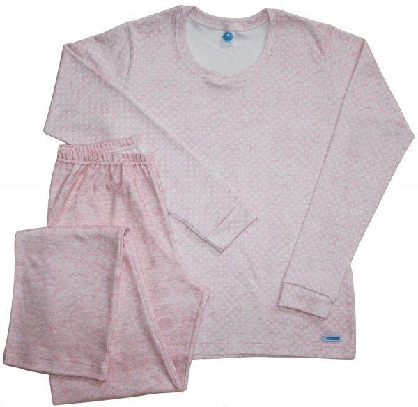 Pijama Estrela Suedine