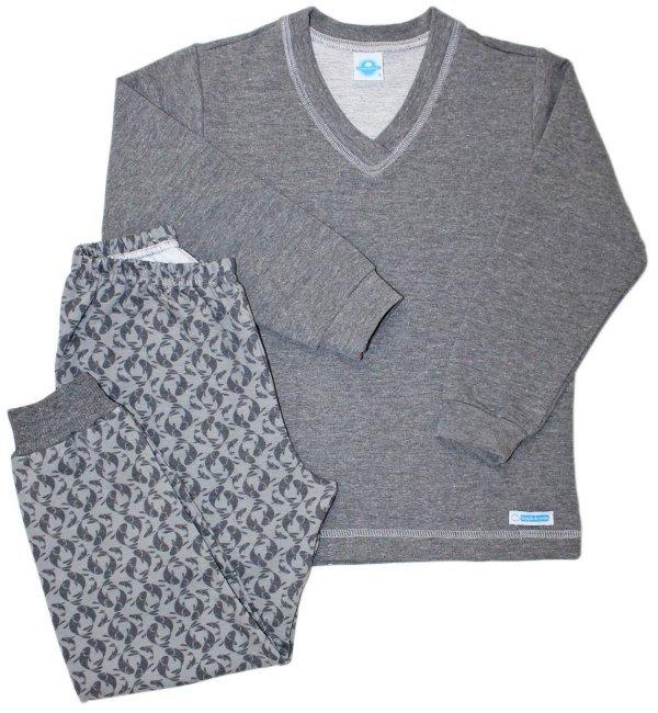 Pijama Masculino Peixes Moletinho
