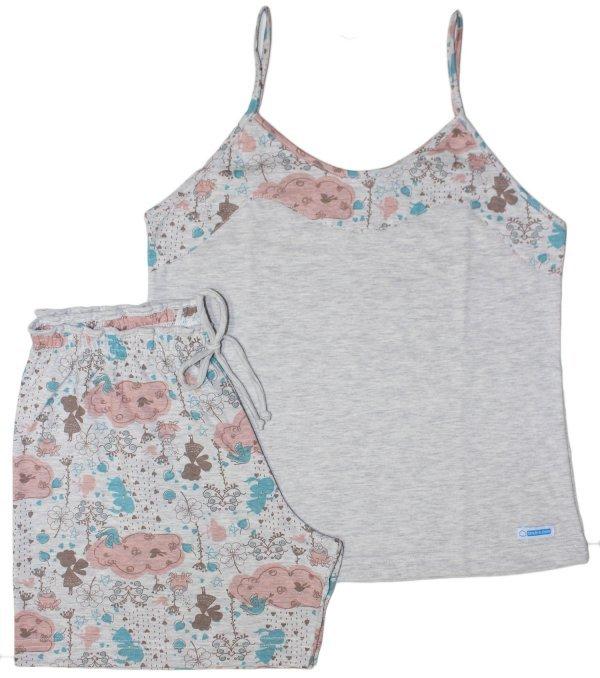 Pijama Fada Salmão