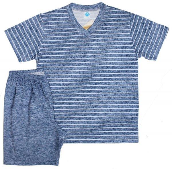 Pijama Masculino Algodão Jeans