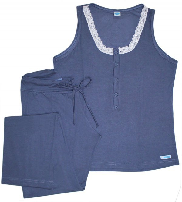 Pijama Feminino Polo Denim