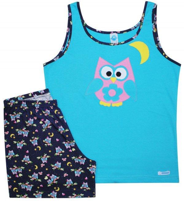 Pijama Feminino Corujice