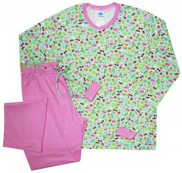 Pijama Feminino Flamingo Inverno