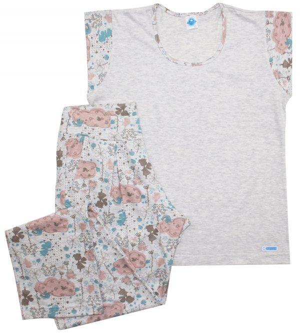 Pijama Fada Inverno - Tam P e GG