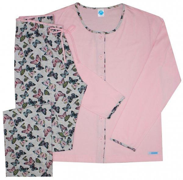 Pijama Borboletas Aberto
