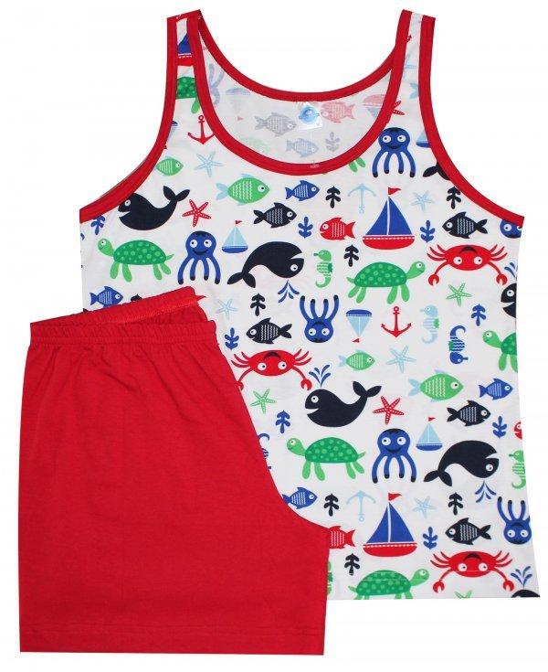 Pijama Verão Vida Marinha - Feminino