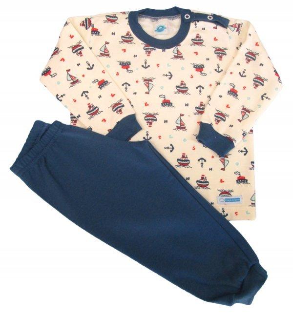 Pijama Barquinho - Tam 1, 6, 8