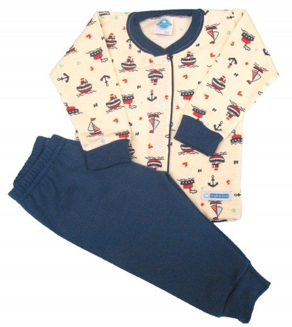 Pijama Barquinho Flanela