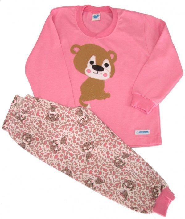 Pijama Oncinha Infantil - Tam 2 - 4