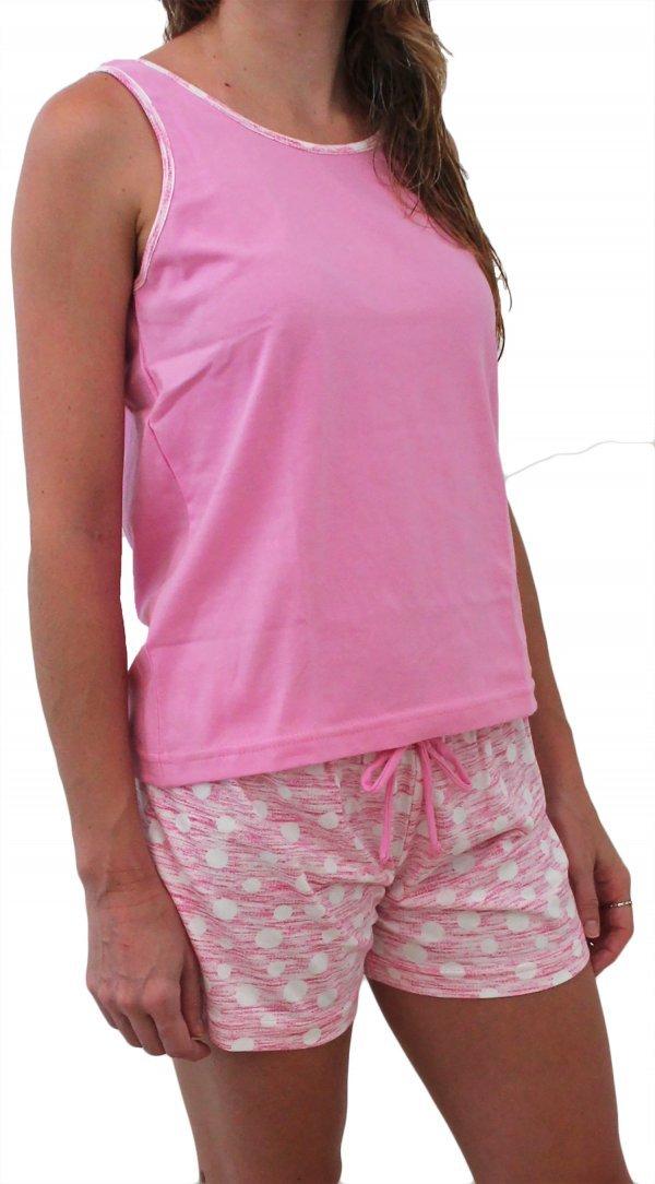Pijama Bolas Rosa - Tam P