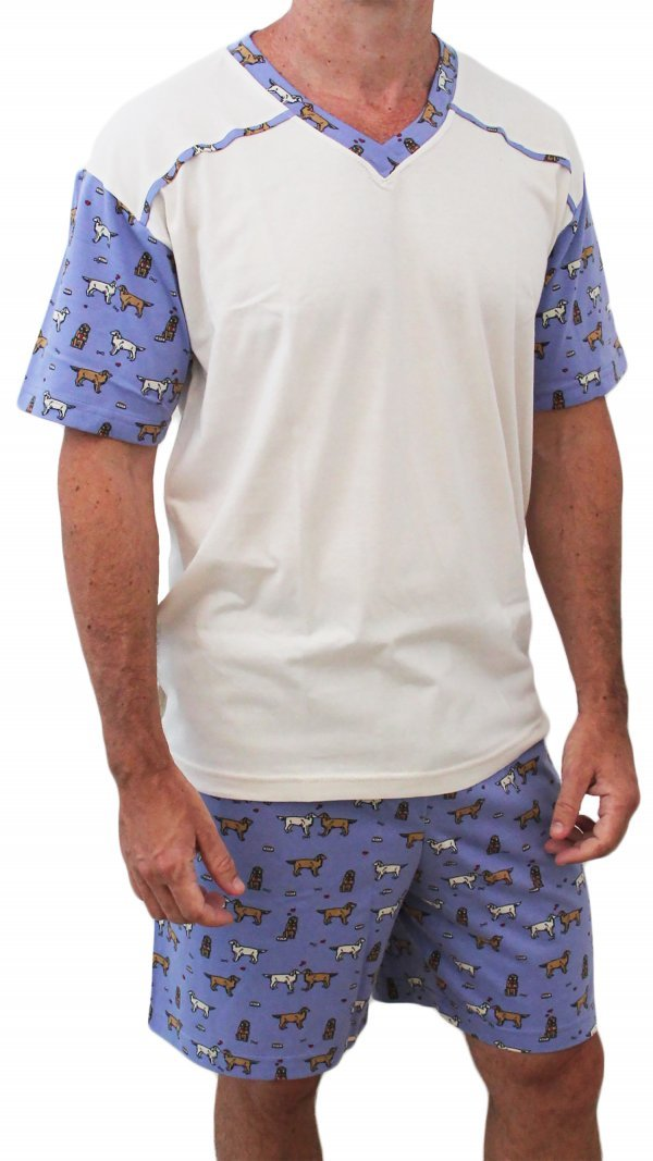 Pijama Au-Au masculino - Tam P