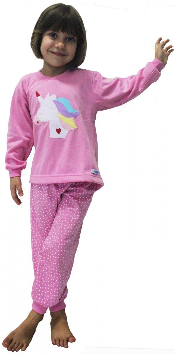 Pijama Feminino Unicórnio - Tam 1
