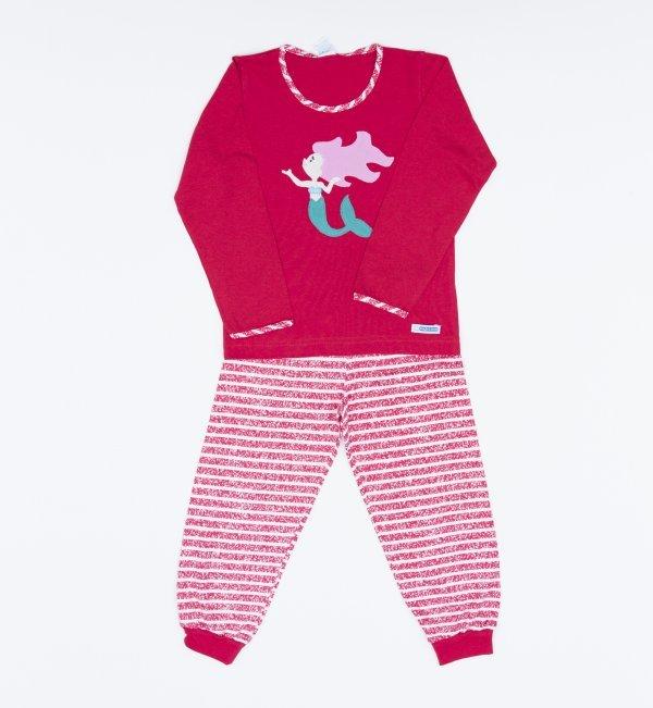Pijama Longo Feminino Sereia