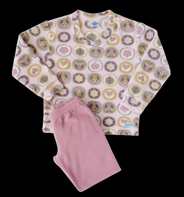 Pijama Microsoft Maça Rosê