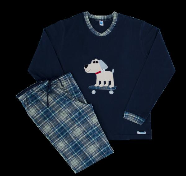 Pijama Feminino Xadrez - Inverno