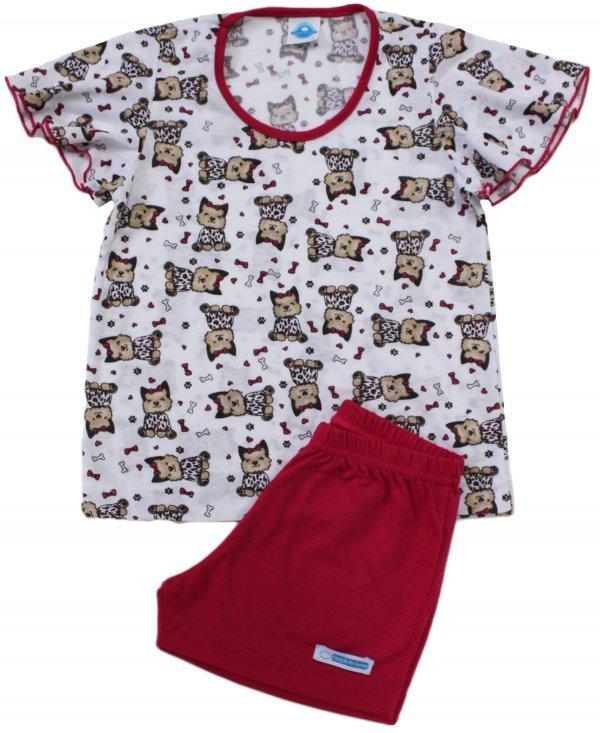 Pijama Infantil Cachorrinho Loop