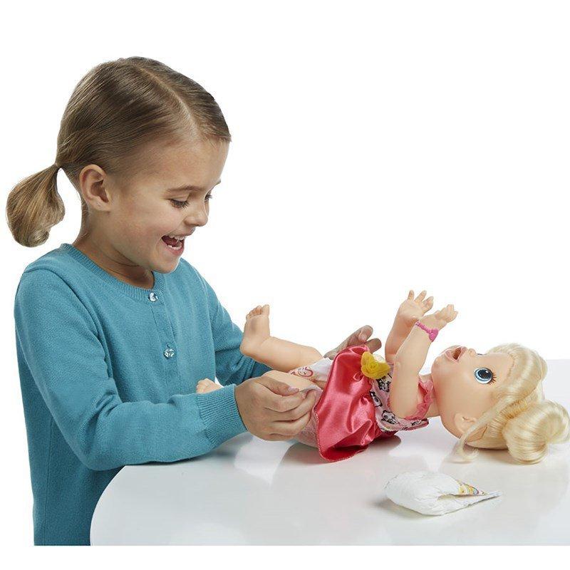 Boneca Baby Alive Hora De Comer Loira - Hasbro Ref:a7022