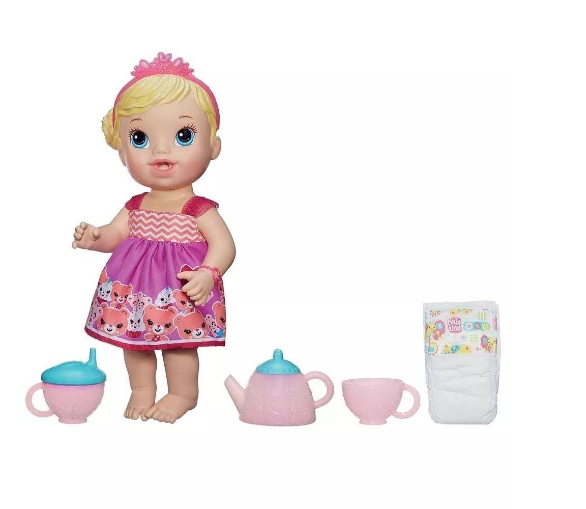 Boneca Baby Alive Hora Do Chá Loira - Hasbro Ref:a9288