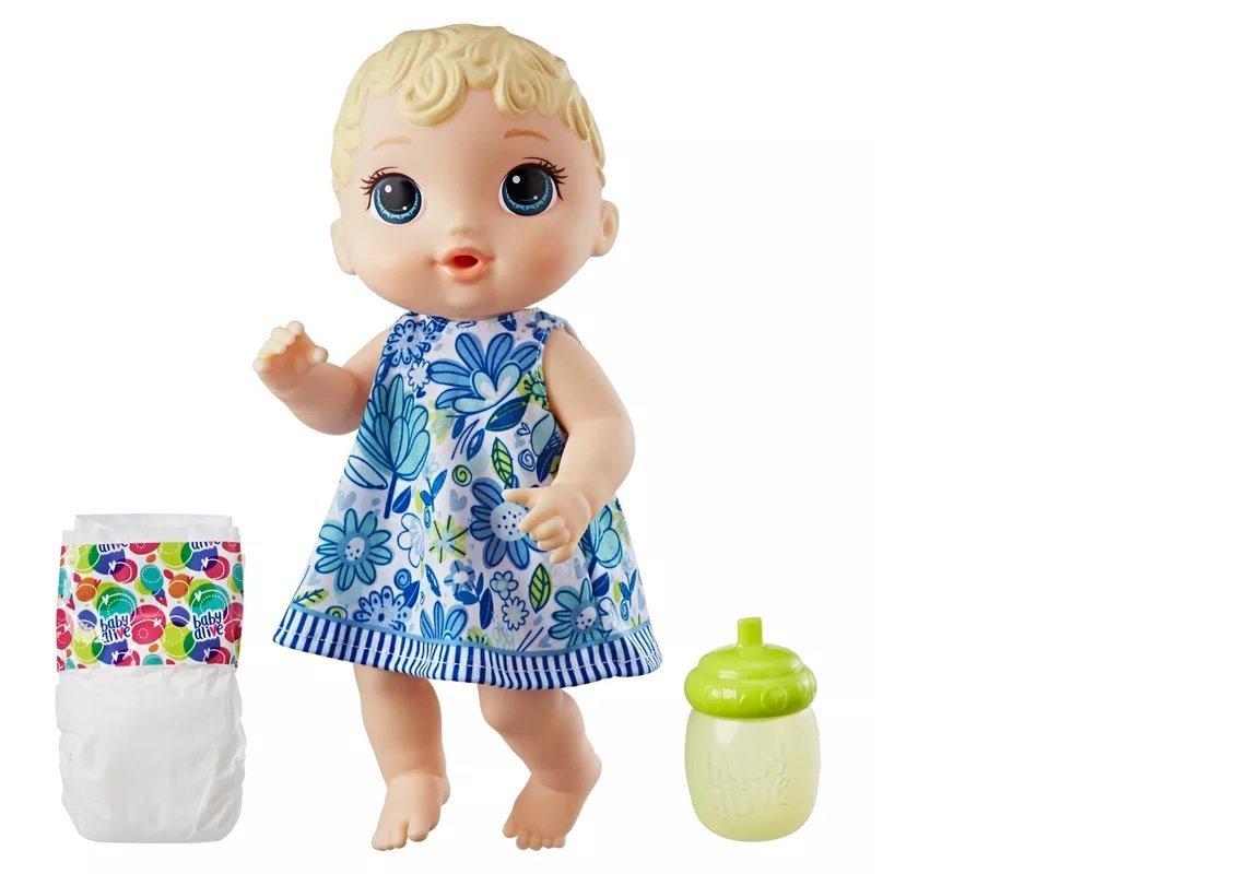 Boneca Baby Alive Hora Do Xixi Loira - Hasbro Ref:e0385
