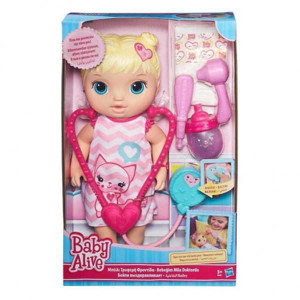 BONECA BABY ALIVE CUIDA DE MIM LOIRA - HASBRO REF:C2691