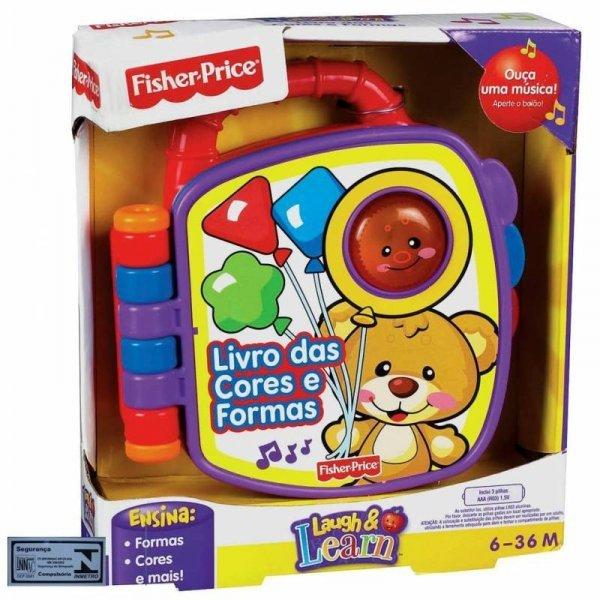 Fisher Price Livrinho Aprender E Brincar - Mattel