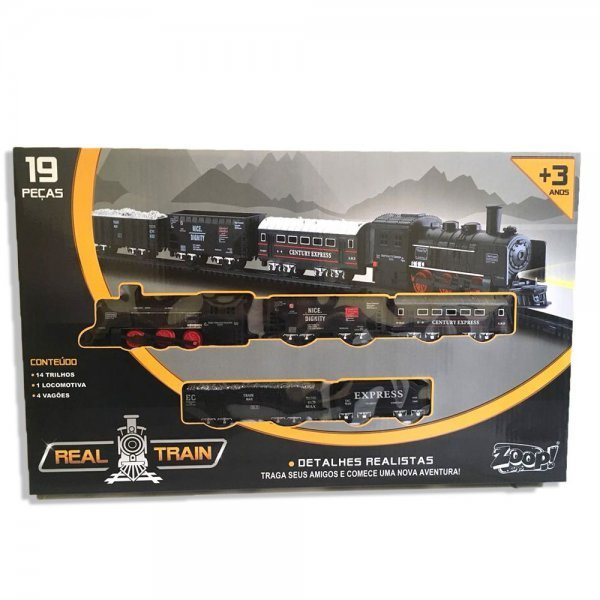 Real Train Locomotiva - Zoop Zp00170