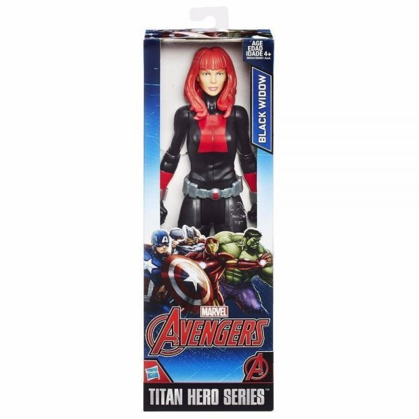 Boneco Avengers Viúva Negra Titan Hero