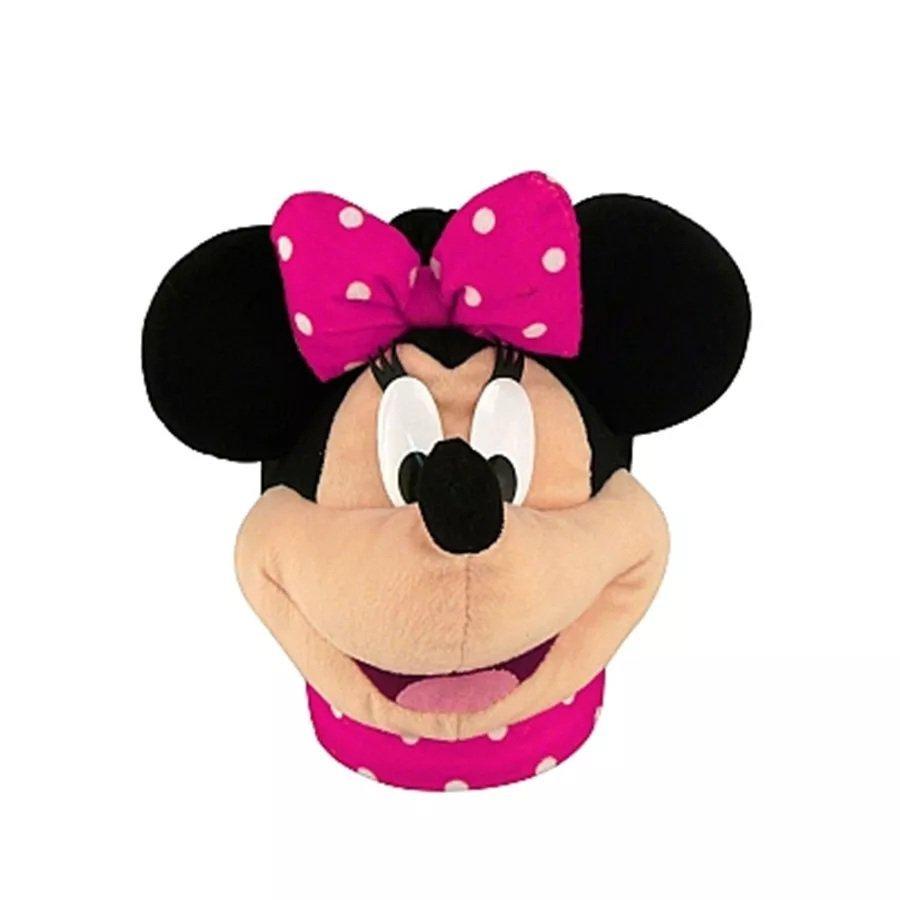 Pantufa Minnie Rosa 3d - Ricsen Ref:19818