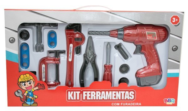 KIT DE FERRAMENTAS C/ FURADEIRA - BBR R2721