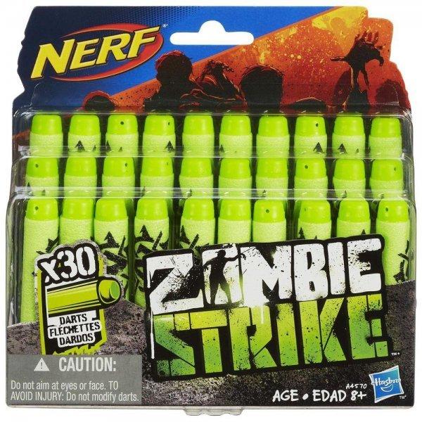Refil Nerf Zombie 30 Dardos - Hasbro