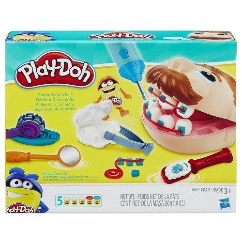 Massinha Play-doh Brincando De Dentista - Hasbro B5520