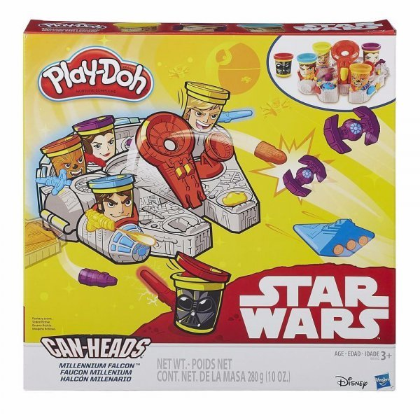 Massinha Play Doh Star Wars Millenium - Hasbro B0002