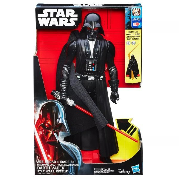 BONECO STAR WARS ROGUE ONE HERO SERIES ELETRÔNICO DARTH VADER - HASBRO B7284