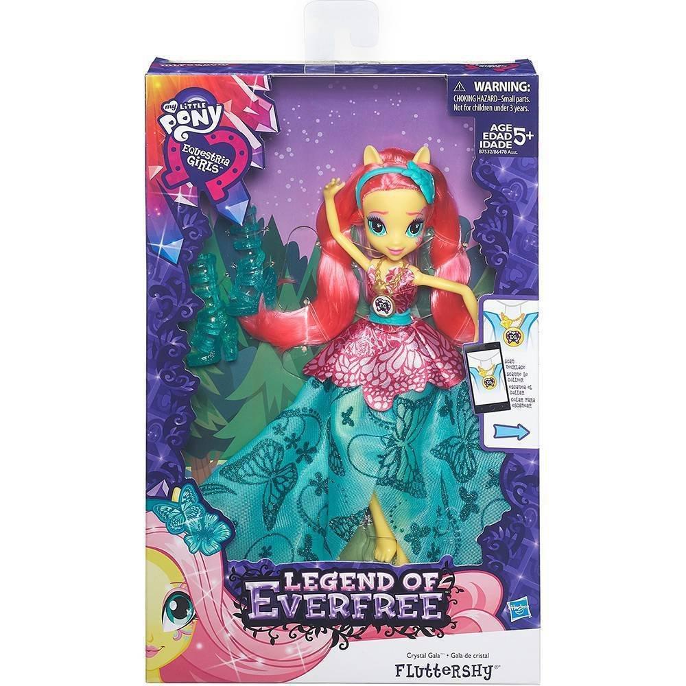 Boneca Fluttershy Luxo Gala De Cristal My Little Pony - Hasbro B7532