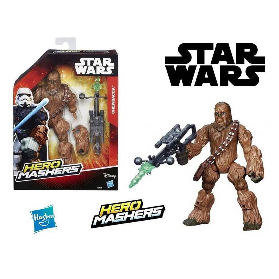 Boneco Chewbacca Hero Mashers Star Wars - Hasbro B3665