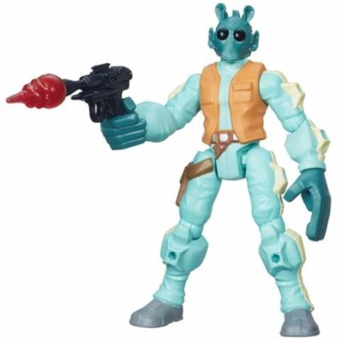 Boneco Greedo Hero Mashers Star Wars - Hasbro B3770