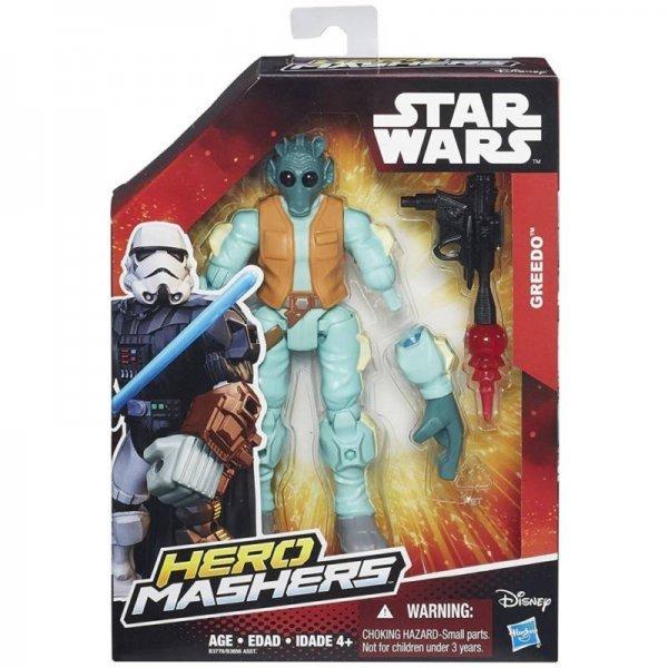 BONECO GREEDO HERO MASHERS STAR WARS - HASBRO B3770