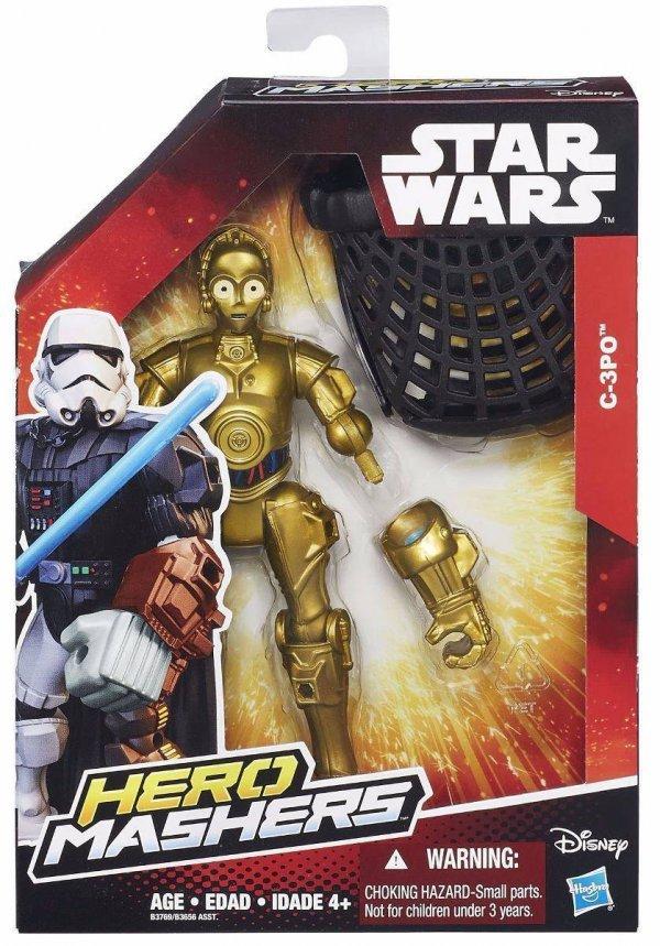 BONECO C3PO HERO MASHERS STAR WARS - HASBRO B3769