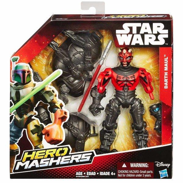 BONECO HERO MASHERS DELUXE STAR WARS DARTH  MAUL HASBRO B4160