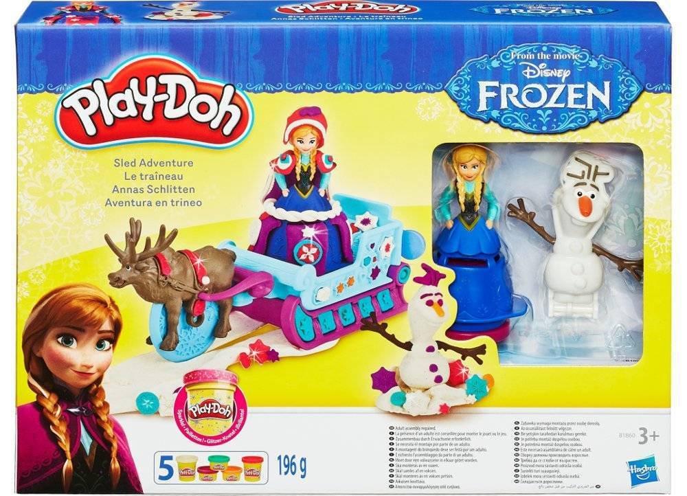 Playdoh Trenó Frozen - Hasbro B1860